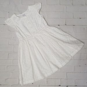 Children's Place White Dress